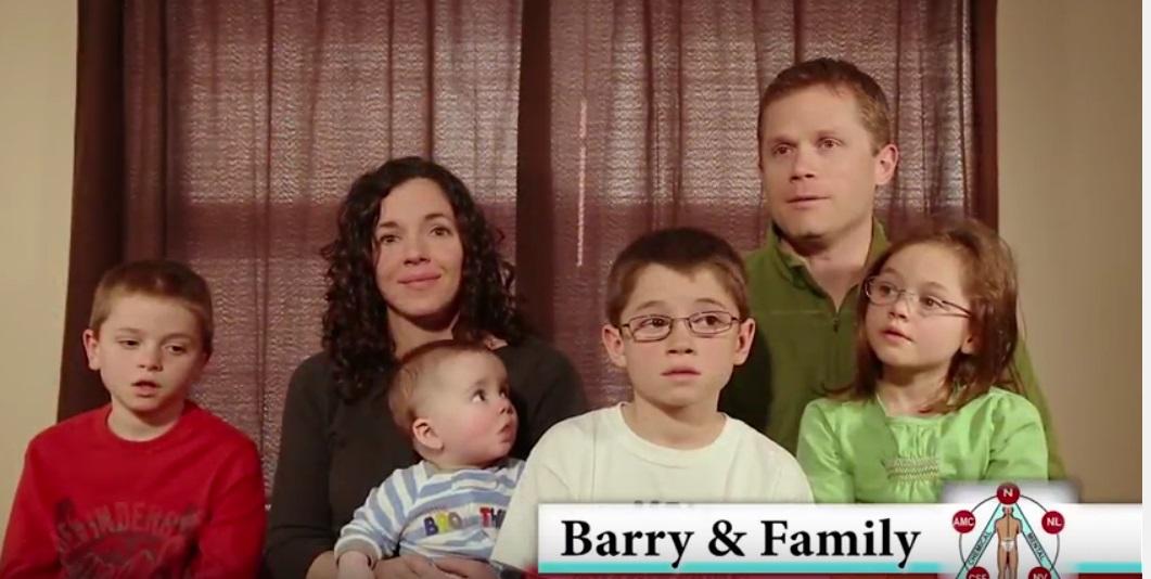 Barry & Family Testimonial